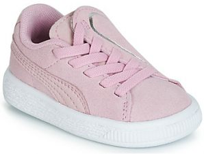 Xαμηλά Sneakers Puma INF SUEDE CRUSH AC.LILAC ΣΤΕΛΕΧΟΣ: καστόρι & ΕΠΕΝΔΥΣΗ: & ΕΣ. ΣΟΛΑ: & ΕΞ. ΣΟΛΑ: Καουτσούκ