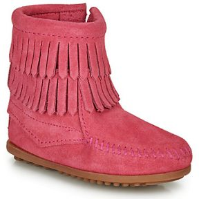 Μπότες Minnetonka DOUBLE FRINGE SIDE ZIP BOOT