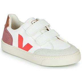 Xαμηλά Sneakers Veja SMALL-V-12-VELCRO ΣΤΕΛΕΧΟΣ: Δέρμα & ΕΠΕΝΔΥΣΗ: Ύφασμα & ΕΣ. ΣΟΛΑ: Συνθετικό & ΕΞ. ΣΟΛΑ: Καουτσούκ