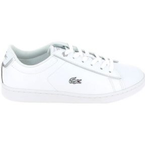 Xαμηλά Sneakers Lacoste Carnaby Evo Jr Blanc Argent