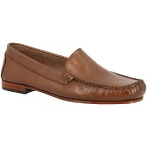 Μοκασσίνια Leonardo Shoes 318 VITELLO CAPPUCCINO