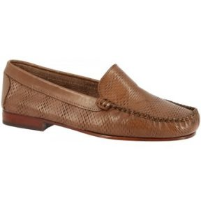 Μοκασσίνια Leonardo Shoes 2803 VITELLO CAPPUCCINO
