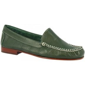 Μοκασσίνια Leonardo Shoes 2803 VITELLO VERDE