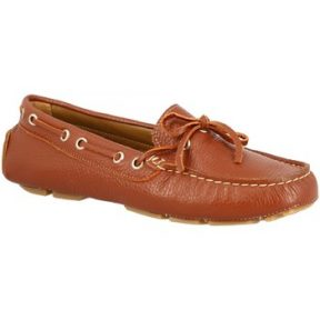 Μοκασσίνια Leonardo Shoes 3040 VITELLO MARRONE
