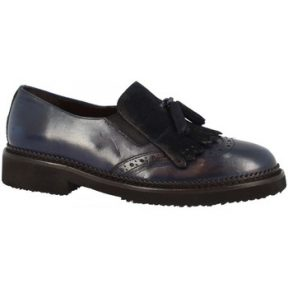 Μοκασσίνια Leonardo Shoes D603_6 PE SOFTY BLUE