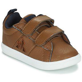 Xαμηλά Sneakers Le Coq Sportif COURTCLASSIC INF WORKWEAR ΣΤΕΛΕΧΟΣ: Δέρμα & ΕΠΕΝΔΥΣΗ: Ύφασμα & ΕΣ. ΣΟΛΑ: Ύφασμα & ΕΞ. ΣΟΛΑ: Καουτσούκ