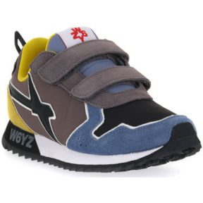 Sneakers W6yz 2C31 JET VL J BLACK YELLOW [COMPOSITION_COMPLETE]