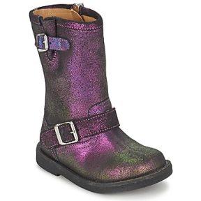 Μπότες για την πόλη Pom d'Api HIKE BIKER ΣΤΕΛΕΧΟΣ: Δέρμα & ΕΠΕΝΔΥΣΗ: Δέρμα & ΕΣ. ΣΟΛΑ: Δέρμα & ΕΞ. ΣΟΛΑ: Καουτσούκ