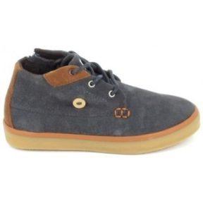 Ψηλά Sneakers Faguo Wattle Suede C Gris