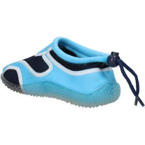 Sneakers Everlast sneakers blu tessuto celeste gomma AF852