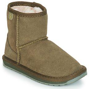 Μπότες EMU WALLABY MINI ΣΤΕΛΕΧΟΣ: Δέρμα προβάτου & ΕΠΕΝΔΥΣΗ: Μάλλινα & ΕΣ. ΣΟΛΑ: Μάλλινα & ΕΞ. ΣΟΛΑ: Καουτσούκ